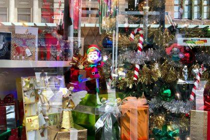 Myers Christmas Window Display