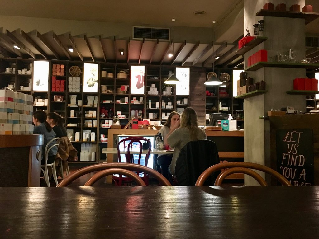 Coffee Shop Library