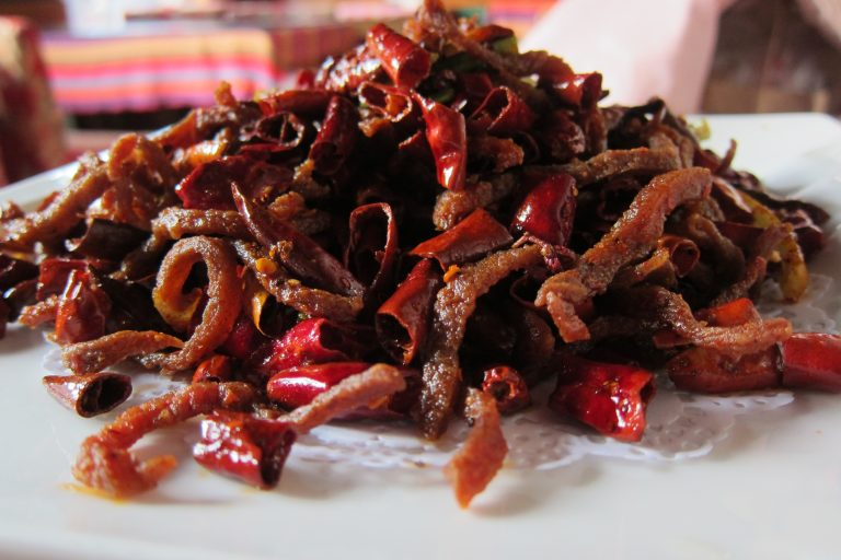 Spicy food in China