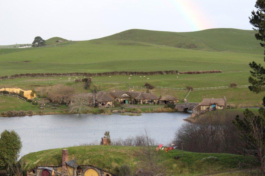 Hobbiton Rainbow