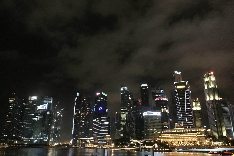 Singapore-CBD-night