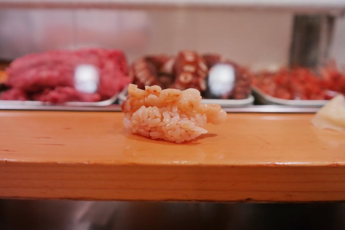 Clam sushi dai