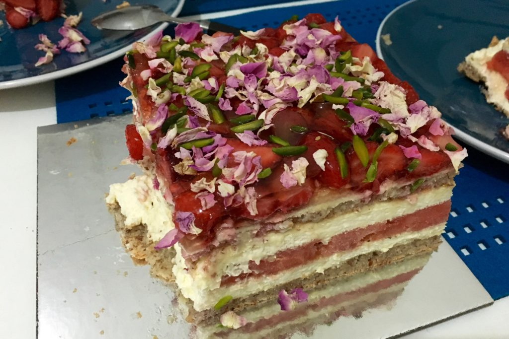 Watermelon Cake Blackpastry
