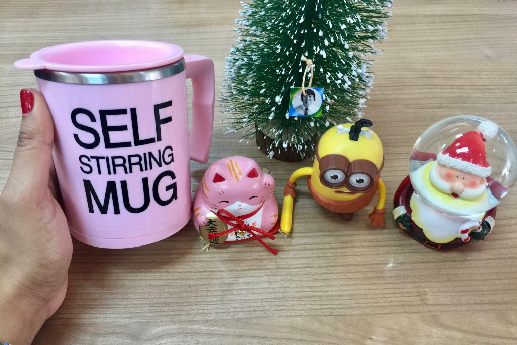 Christmas Gift Self Stir Mug