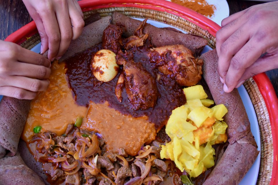 Ethiopian Cuisine and African Communal Eating Culture - Kulture Kween